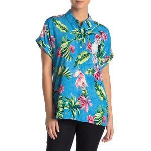 NWT Tommy Bahama Tahitian Tropical Camp Shirt